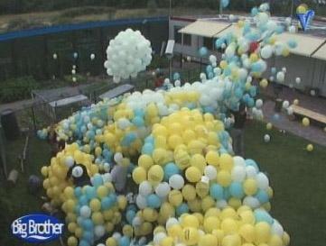 Laat de ballonnen maar op